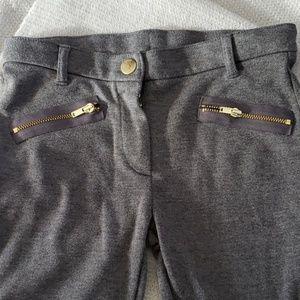 Girls gray leggings